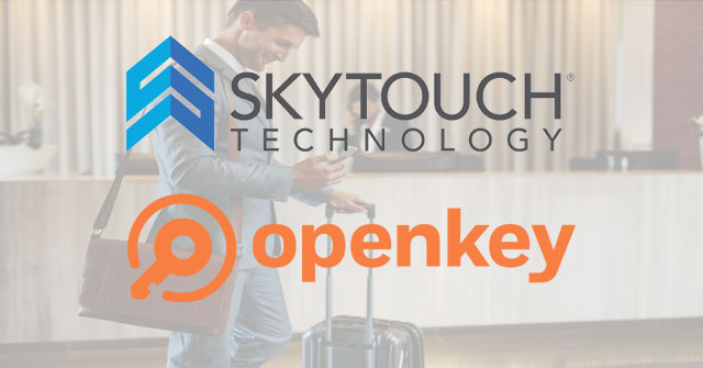 SkyTouch and OpenKey Interface to Transform Guest Engagement and Help Drive Satisfaction Scores